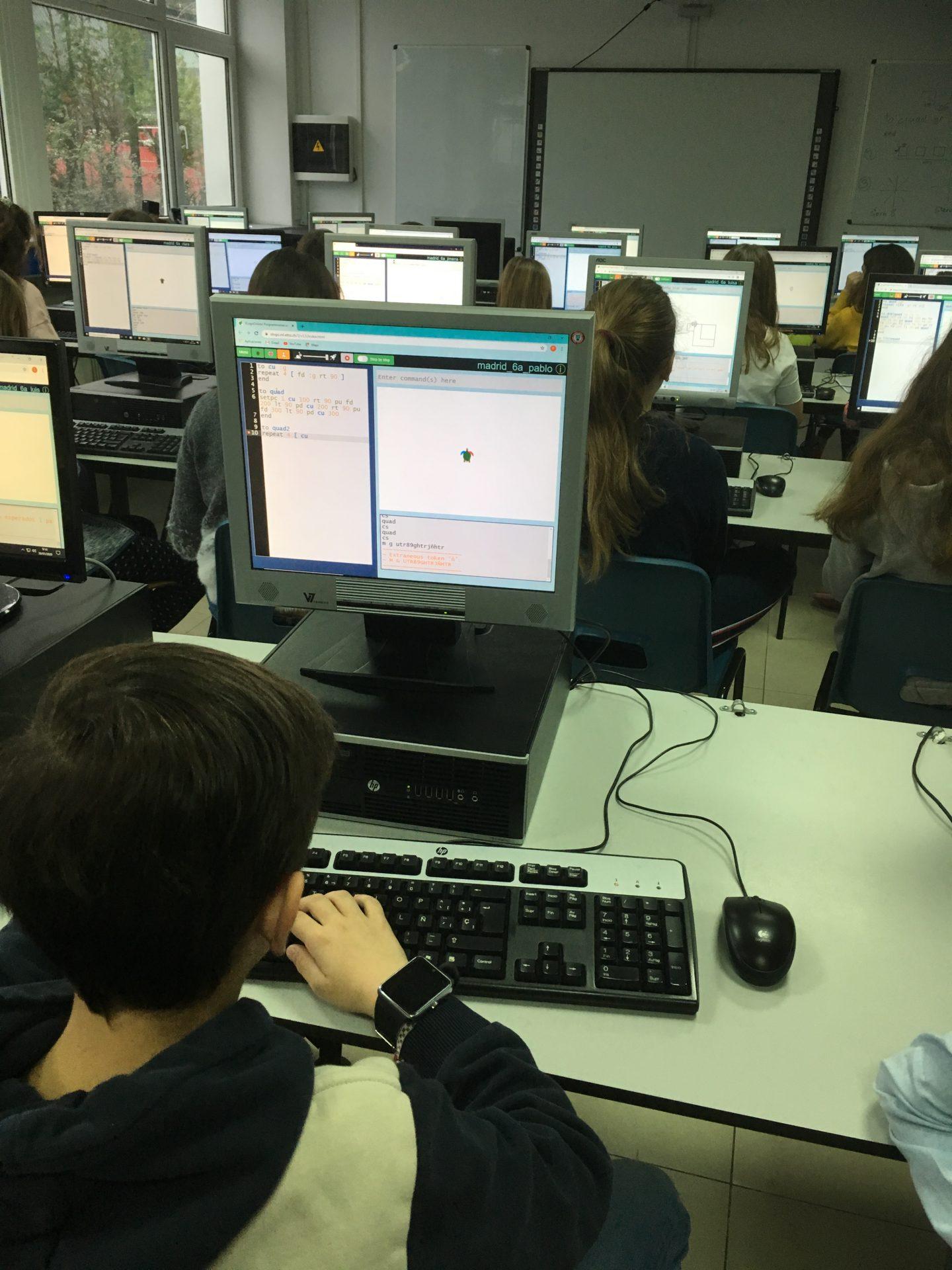 Semana informática colegio Suizo Madrid